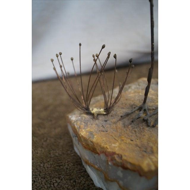 Curtis Jere Metal Sculpture of Shore Birds - Image 6 of 10