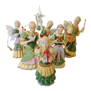 Greenwich Workshop Angel Ornament Collection - S/6