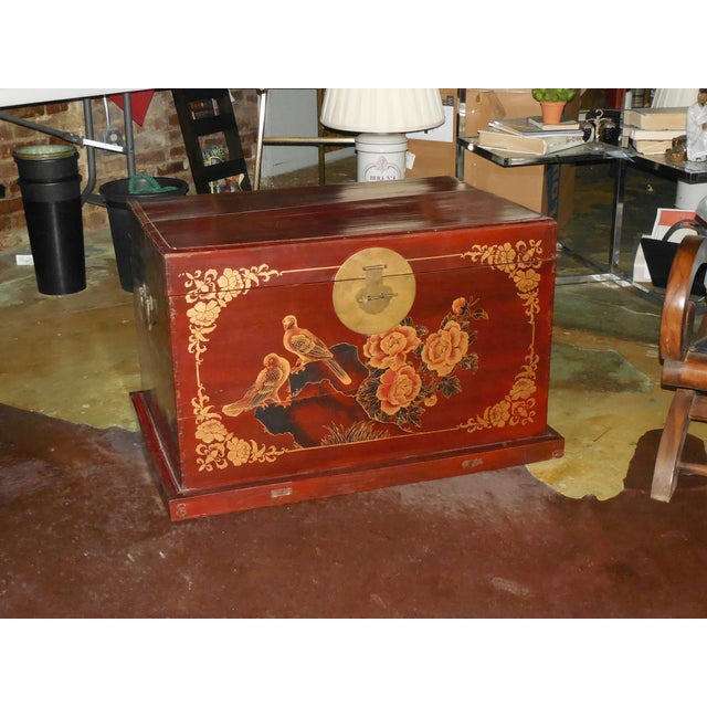 Painted and Gilt Chinese Trunk C.1925 - Image 3 of 8