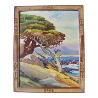 Cypress Point California Oil Painting