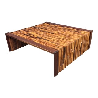 Percival Lafer Brazilian Brutalist Coffee Table