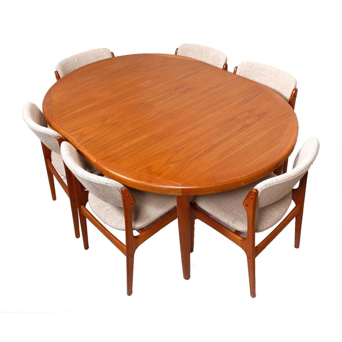 Danish Teak RoundOval Dining Table amp Pads Chairish : 2c8b06cc 87fc 4920 9032 db9a092560fbaspectfitampwidth640ampheight640 from www.chairish.com size 640 x 640 jpeg 42kB