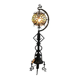 Hand-wrought Arts & Craft Table Lamp