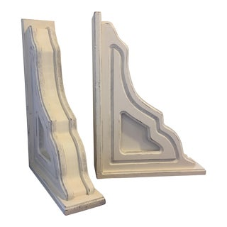 Large Rustic Farmhouse Corbels / Brackets - a Pair