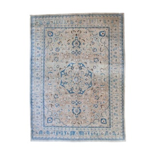 "Vintage Persian Tabriz Carpet - 8'2"" x 11'"