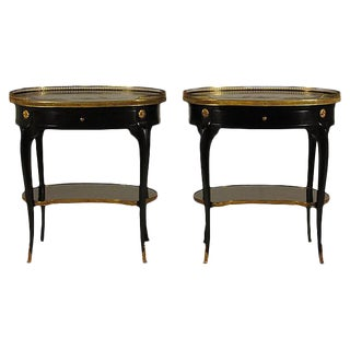 French Chinoiserie End Tables - A Pair