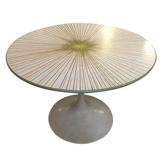 Mid-Century Starburst Design Kitchen Table