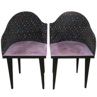 Fabulous Set of Ten Saporiti Chairs