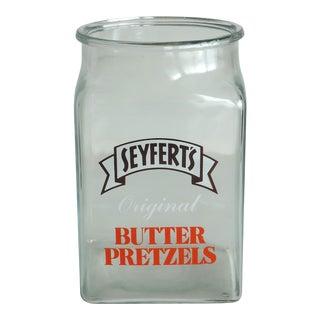 Vintage General Store Pretzel Jar