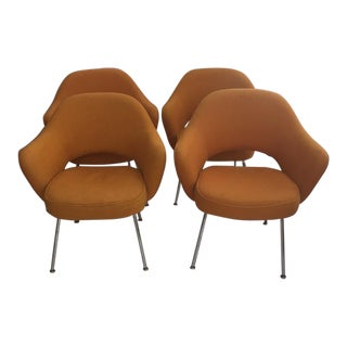 Saarinen for Knoll Executive Arm Chairs - Set of 4