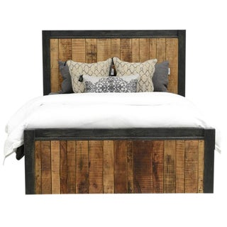 Reclaimed Wood Panel Eastern King Bed