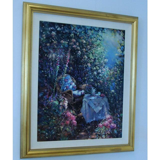 "Oil on Canvas - Paul Matthews ""Trellished Path"" - Image 2 of 7"