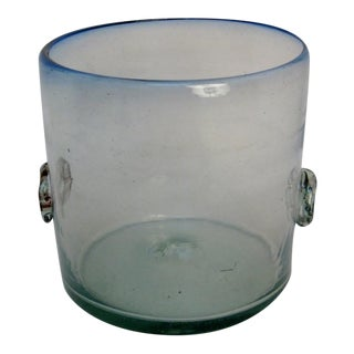 Mexican Glass Ice Bucket