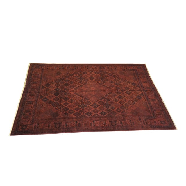 """Persian Over Dyed 11'2"""" x 7'2"""" Rug - Image 1 of 4"""