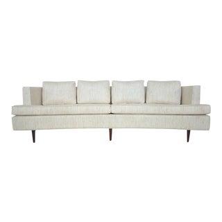 Curved Sofa by Edward Wormley for Dunbar