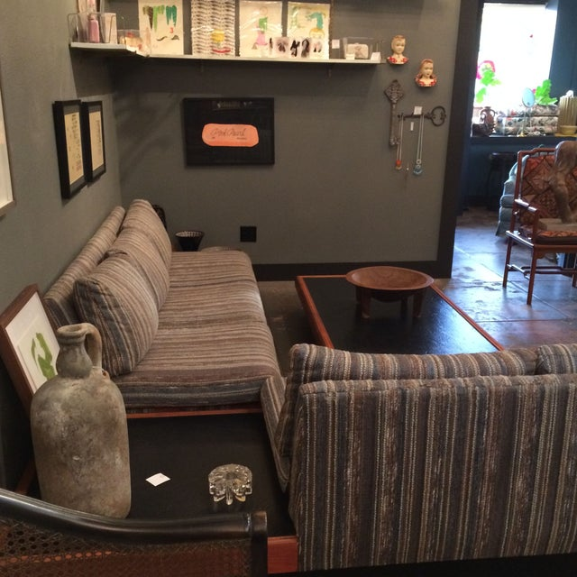 1960s Adrian Pearsall Platform Sofa and Table Set - Image 5 of 10