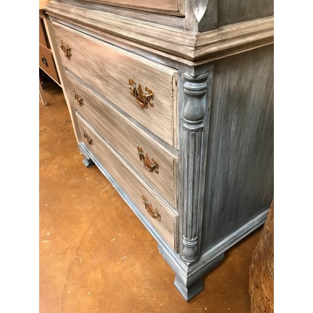 Blu & Gray Tall Boy Dresser - Image 7 of 9