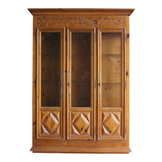 French Provincial Style China Cabinet