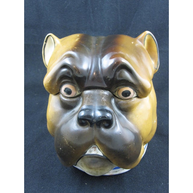 English Staffordshire Bulldog Covered Porcelain Jar - Image 2 of 9