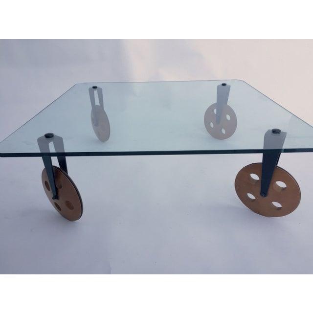 Gae Aulenti For Fontana Arte Glass Coffee Table Chairish