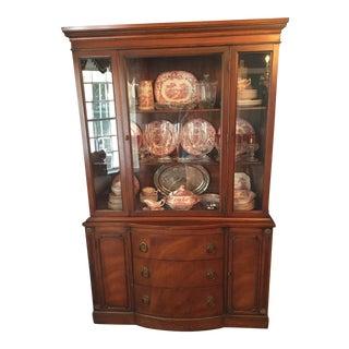 Vintage Mahogany China Cabinet