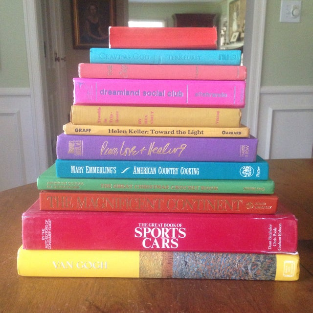 Brightly Colored Decorative Books - Set of 12 - Image 3 of 11