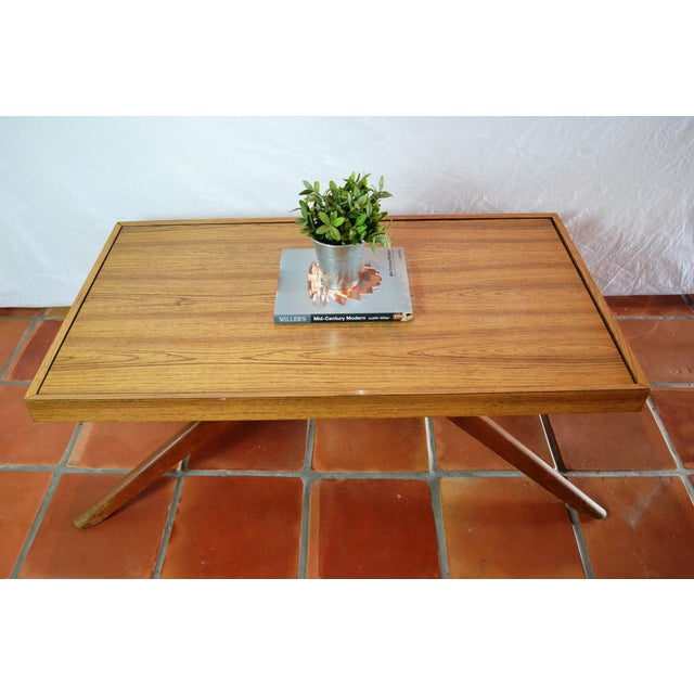 Mid-Century Convertible Castro Dining/Coffee Table - Image 3 of 11