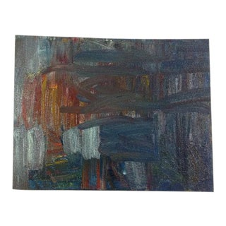 Confusion Original Abstract Oil Painting