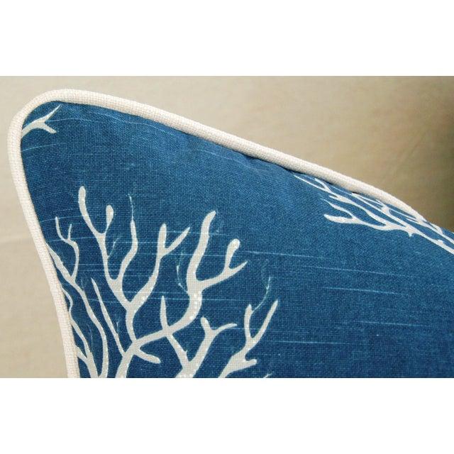Designer Ocean & Beach Coral Branch Pillow - Image 3 of 4