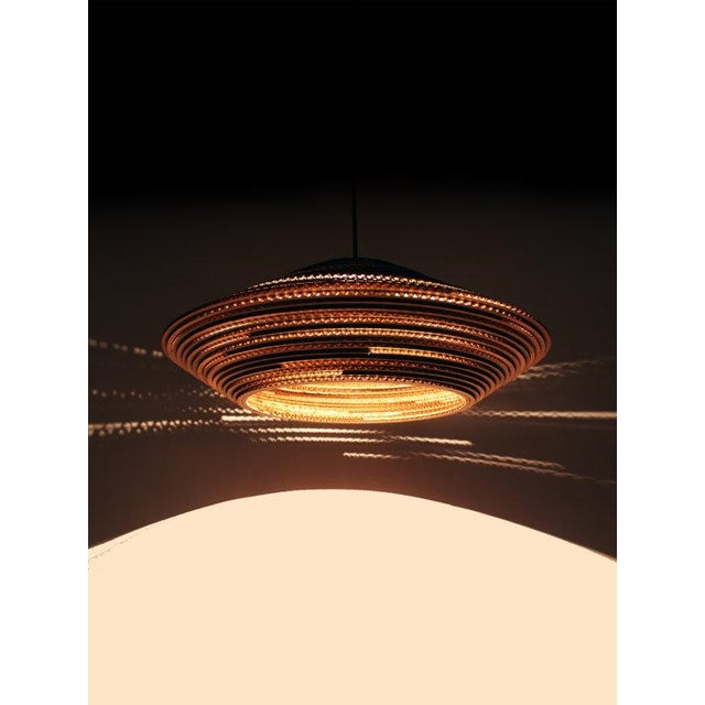 Image of Modern Recycled Cardboard Pendant Light
