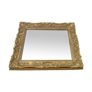 Victorian Style Ornate Gold Leaf Mirror