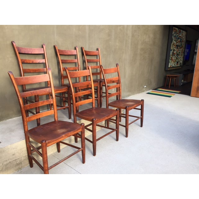 Nichols And Stone Chairs - Set of 6 - Image 6 of 8