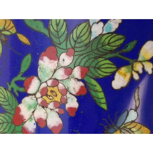 Antique Chinese Cloisonne Box - Image 6 of 11