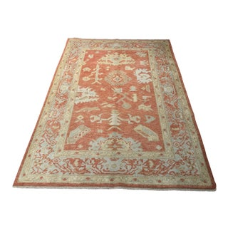 """Bellwether Rugs Contemporary Turkish Oushak Area Rug - 4'4""""x6'5"""""""