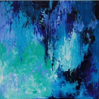 """Caribbean Blues"" Painting-Celeste Plowden"