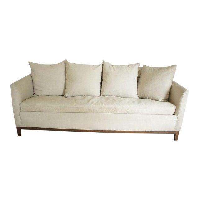 Cisco Home Flax Linen Sofa - Image 1 of 10