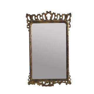 Articulated Gilded Mirror