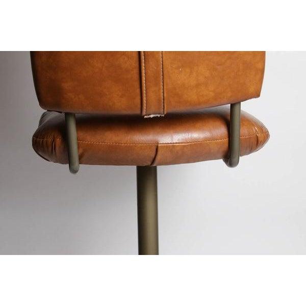 Image of Vintage Mid-Century Bar Stools - Set of 3