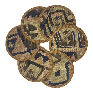 Kilim Coasters Set of 6 | Berrak