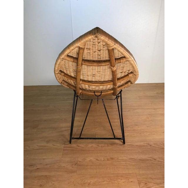 Lina Zervudachi for Elsa Schiaparelli Rattan Fish Lounge - Image 7 of 8
