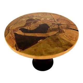 Gueridon Parchment Table