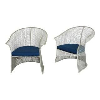 Mid-Century Garden Chairs by Woodard
