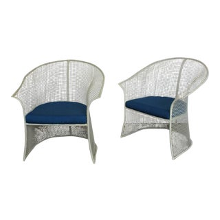 Mid-Century Garden Chairs by Woodard