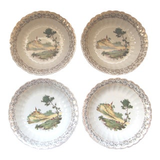 Limoges Soup Bowls Chateau - Set of 4