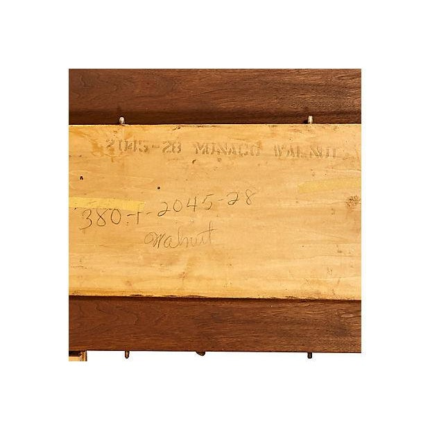 1960s Walnut Expandable Dining Table - Image 6 of 7