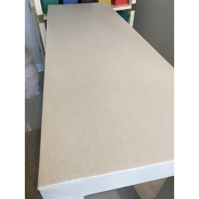 Upholstered Celine Parsons Table - Image 7 of 9
