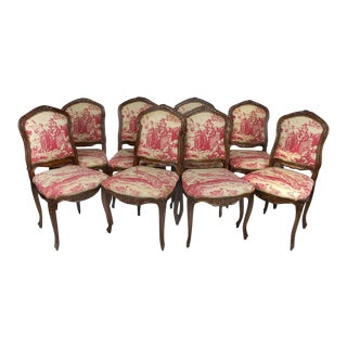 Louis XV Dining Chairs - Set of 8