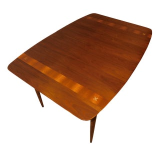 American of Martinsville Walnut Mid-Century Modern Dining Table