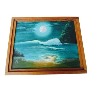 Hawaiian Beach Seascape Painting