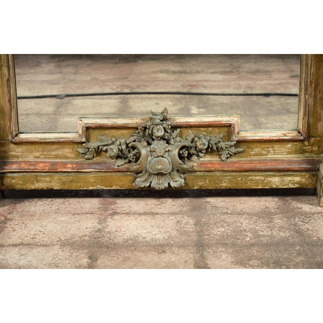 19th-Century French Marble Top Console - Image 5 of 10